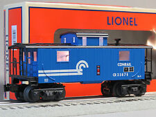 LIONEL CONRAIL ILLUMINATED BLUE CABOOSE O GAUGE train lighted 6-83179 NEW