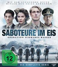 2 Blu-rays * SABOTEURE IM EIS - OPERATION SCHWERES WASSER # NEU OVP &
