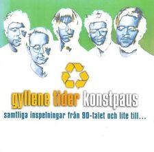 CD GYLLENE TIDER, KONSTPAUS, Per Gessle, Roxette