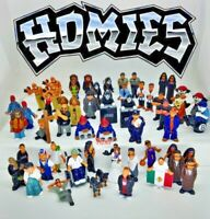 HOMIES Mini Toy Figurine Series PVC Complete Your Set You Choose! *Vintage Rare*