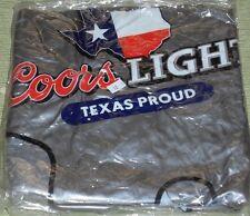 INFLATABLE FOOTBALL HELMET  BEER  COORS LIGHT Texas Proud
