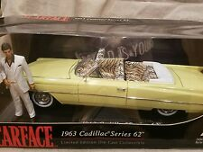 LIMITED EDITION SCARFACE 1963 CADILLAC SERIES 62 1:18 scale  JADA.