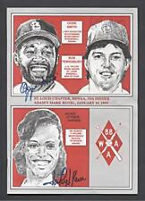 1993 St. Louis Sportwriters Program (8 Autos with Ozzie Smith)