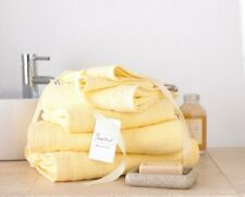 Lemon 8 Pcs Towel Bale Set 100 Egyptian Cotton Face Hand Bath Bathroom