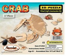 Holzbausatz Krabbe - 3D Puzzle