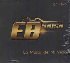 EB Salsa Lo Mejor de Mi Vida CD+DVD New Nuevo Caja de Carton