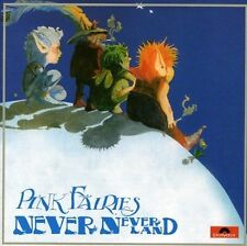pink fairies -  never never land  + 4 bonus  ( UK )  CD