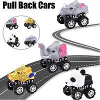 Fahrzeug Tier Pull Back Autos mit großen Reife Rad kreative Geschenke für Kinder