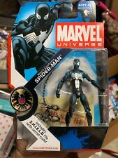 Spider-Man Black Costume Action Figure 018 Marvel Universe Series 1 2008
