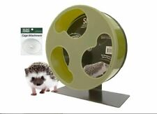 """Silent Runner 12"""" Wide + Cage Attachment - Silent, Fast, Durable Exercise Wheel"""