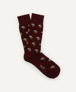 "NWT Paul Smith ""Ozzy the Chameleon"" socks made in Italy. Yours for?"