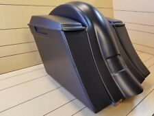 """Softail 6""""Down and Out Harley Davidson Drop Back Extended Saddlebags Fender."""