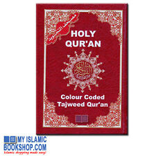 Tajweed Quran Colour Coded Pakistani / Indian Script Arabic Koran Dar Al-Marifa