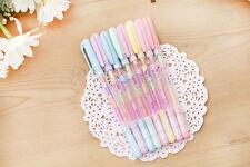 1PCS Andy Color Stationery 6 Color Syncretic Gouache Neutral Pen Pastels Gift