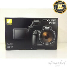 Nikon digital camera P1000BK COOLPIX P1000 black from JAPAN NEW