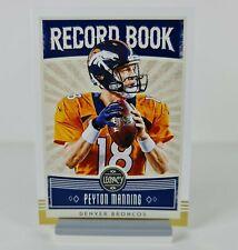 Peyton Manning Panini Legacy Record Book 2020 #RB-PM1 Denver Broncos NFL Card