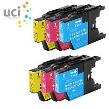 6 CMY Ink Cartridge For Brother LC1240 DCP J525W J725DW J925DW MFC J430W J5910DW