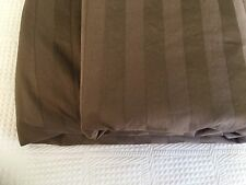 Brown Full Comforter Duvet Cover Supima Sateen 350 TC Company Store Shitake