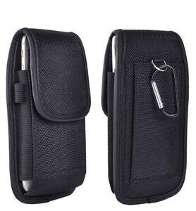 Universal Belt Hook Pouch Bag Nylon For All Mobile Cell Phone Case Cover Holster