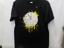 MENS THE WATCHMEN CLOCK THE END IS NIGH BLACK GRAPHIC TSHIRT NEW #13052V