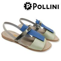 Scarpe Donna Sandali POLLINI Shoes Fondo Cuoio Basse