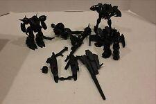 Lot of Bandai Gundam Robot Mech  Models Partially Assembled