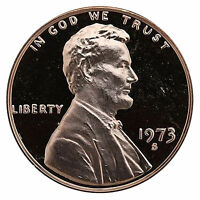 1973-S Lincoln Memorial Cent Penny Gem Proof US Mint Coin Uncirculated UNC