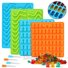 1/4Pack Gummy Bear Mold Candy Making Supplies Chocolate Ice Maker Silicone Molds