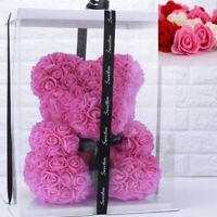 DIY Rose Ours Fleurs Séchées Cadeau Saint Valentin Cadeau de Fête d'anniversaire