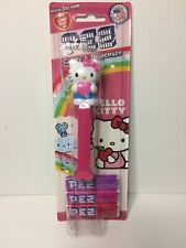 Hello Kitty Full Body Pink Bow Pez Dispenser w/ 3 Candy Packs New in Package
