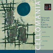 CELLOMANIA - Slovak Works For Cello Quartet, 2006, Classical, PAVLIK RECORDS