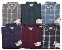 Vans Men's Casual Plaid Wayland Flannel Button Up Shirt Choose Size & Color