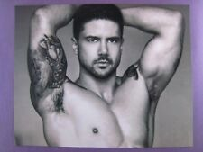 B&W.. Male Model.. Photo..10x8...'' Tattooed Man ''.. ..# O-1...