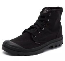 Palladium Men's Pampa HI Canvas Boots Shoes Sneaker Black Size 11 NEW
