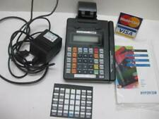 Hypercom T7P credit card machine reader with power cord