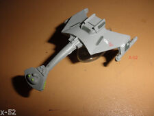 STAR TREK tos KLINGON D7 BATTLE CRUISER classic MICRO MACHINES ship toy + stand