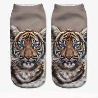 3D Printed Socks Casual Animal Women Unisex New Cute Low Cut Ankle Socks Design