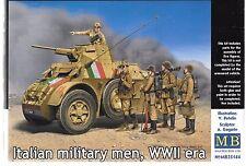 Master Box WWII Era Italian Military Men, 5 Figures in 1/35 35 144 ST