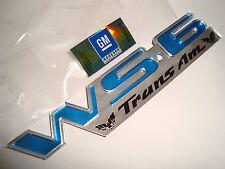 NEW WS6 EMBLEM BLUE 30th Anniversary Pontiac TRANS AM 1999 Firebird CETA 93-2002