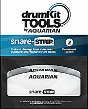 Aquarian SNARE STRIP REDUCE DAMAGE FROM SNARE WIRES ON RESONANT Drumheads 2 PACK