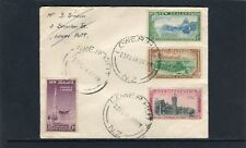 1948 New Zealand Otago Centennial Set Of 4 Addressed FDC, Very Good Condition