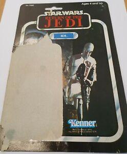 Vintage Star Wars 8D8 card back - 79A Kenner