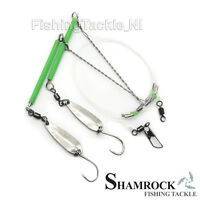 Shamrock Irish Tackle MickeyFish 2 Hook Sea Rigs - Sea Fishing Sabiki Rigs