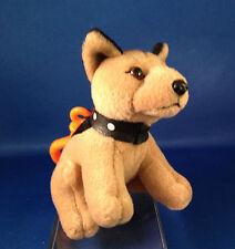 COLLECTIBLE ANIMAL DOG GERMAN SHEPHERD RARE CLIP-ON w/SOUND BARKS ARF! NEW NWT