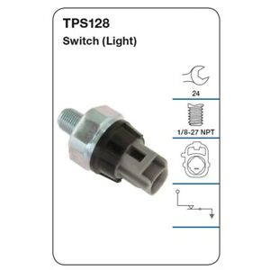 Tridon Oil Pressure Switch TPS128 fits Toyota Corolla 1.8 Sportivo (ZZE123R)