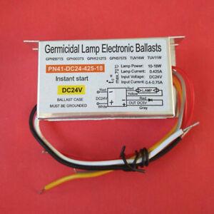 DC 24V power ballast PN41-DC24-425-18 10-18W ultraviolet lamp ballast