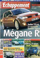 Echappement   N°434   oct 2003 : Mégane rs