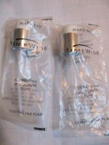 Lot of 2 MARY KAY Beauty Consultant-AGE FIGHTING MOISTURIZER PUMPS, Sealed, New
