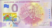 BILLET 0 EURO J. VERNE VOYAGE CENTRE DE LA TERRE 2021 N° 1864 ANNEE DE PARUTION