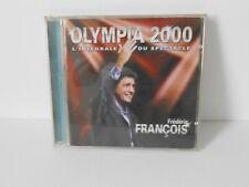 Frédéric François album  2 cd 'Olympia 2000'  parfait état